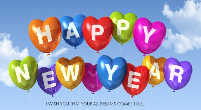 Dreams comes true - Happy new year 2014
