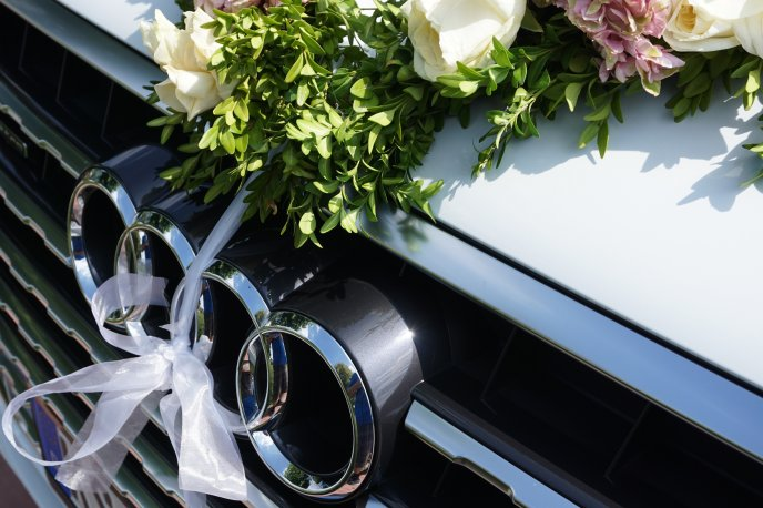 Wedding car - Wonderful Audi