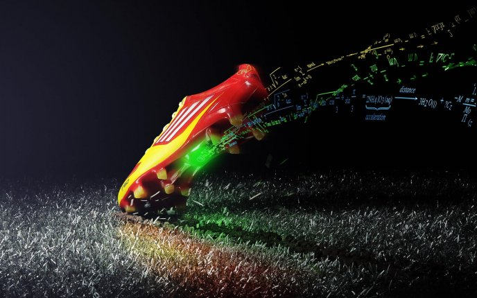 High speed for magic sport shoes - Adidas is cool
