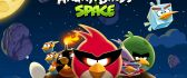 Funny game - Angry birds space