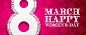 8 March - Happy Woman's Day - Perfect party time