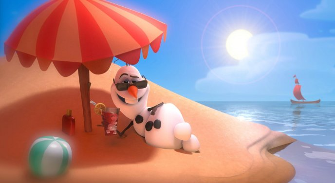 Olaf - the most funny snowman ever - Frozen movie