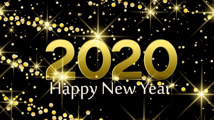 Be a golden year 2020 - Happy New Year