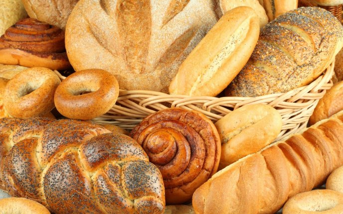 Delicious types of bread - Special flour
