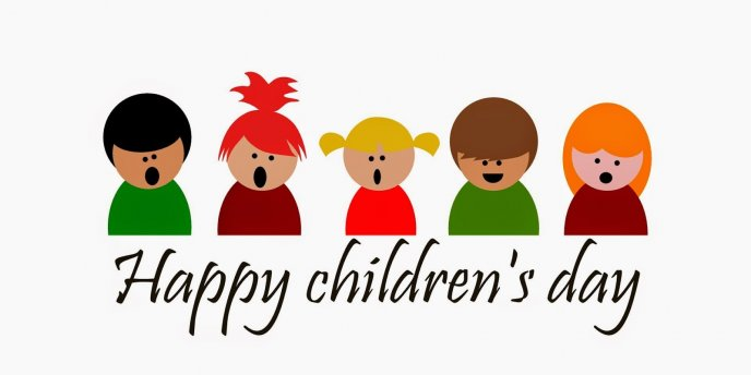 Happy Children's Day - First June every year