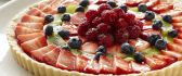 Delicious tart with summer fruits - HD sweet moments
